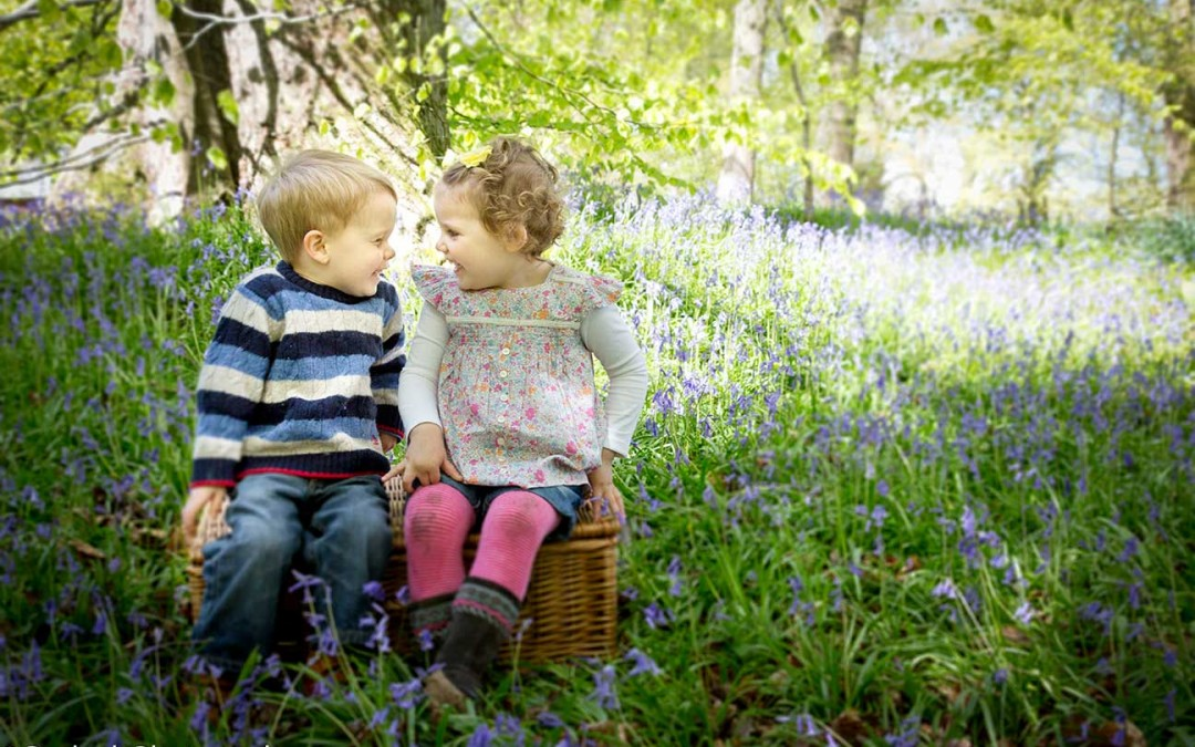 Beautiful Bluebells – Family Location Shoot