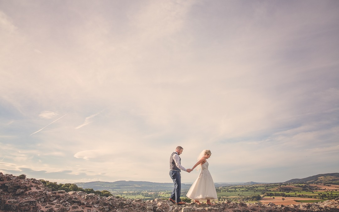 Creative, colourful and captivating wedding in Montgomery – Mid Wales